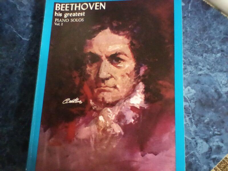 Vintage Beethoven Piano Solos Vol.1