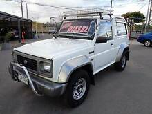 1993 DAIHATSU ROCKY RV TURBO DIESEL Fawkner Moreland Area Preview