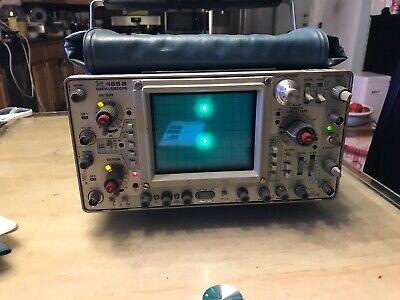 Tektronix 465b 100 Mhz Oscilloscope Dual Channel