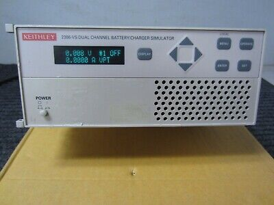 Keithley 2306-vs Dual Channel Battery Charger Simulator-test And Characterize