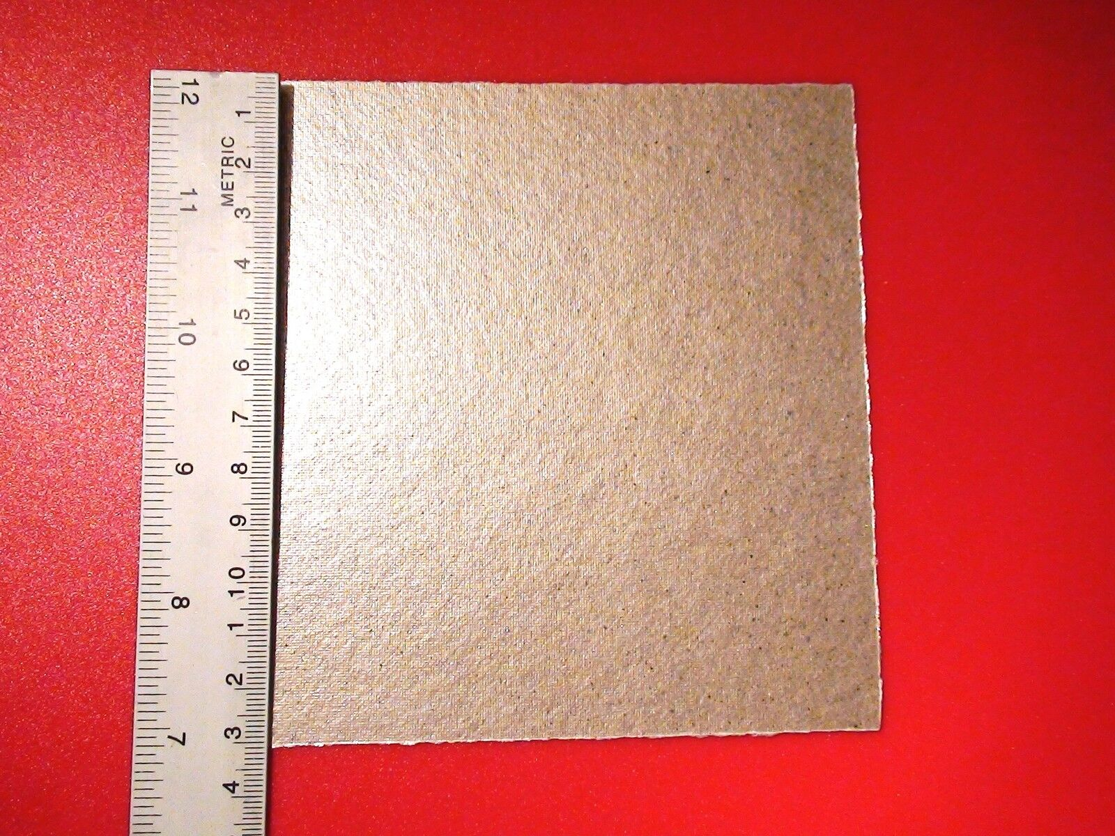 Microwave Cover Sheet Mica Asbestos Shield Heat Waveguide
