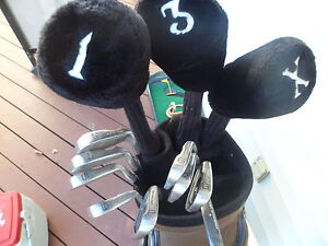 mens left hand 13 piece golf set.