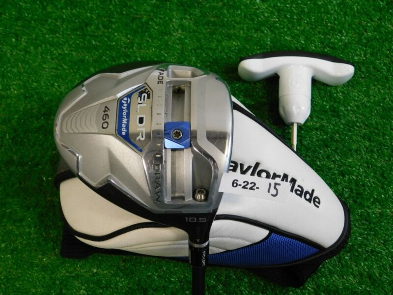 TaylorMade SLDR 10.5* Driver Speeder 57 Stiff Graphite with Headcover & Tool