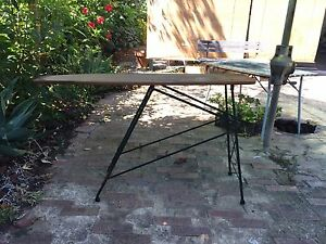 Retro / Vintage ironing board / Hall table Woodbridge Swan Area Preview