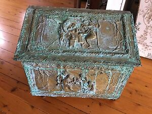 Bronze/brass chest Jilliby Wyong Area Preview