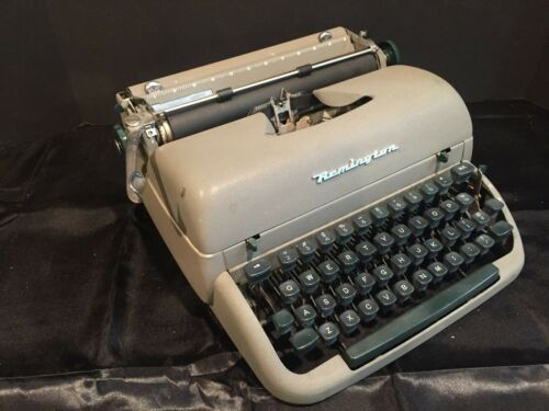 Vintage Remington Rand Portable Typewriter