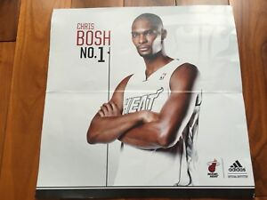 Miami Heat Chris Bosh Game Giveaway Collectors Card