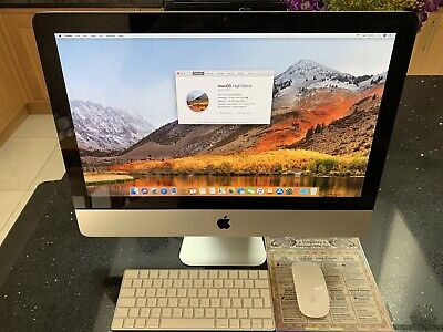 "Apple iMac 21.5"" desktop computer All-in-one A1311 Mid 2011 i5 2.5GHZ 500GB 4GB"