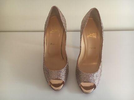 Christian Louboutin strass heels