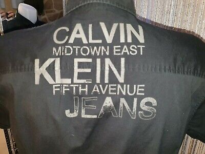 Chemise homme de marque *CALVIN KLEIN *Taille XL manche courte