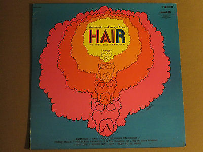 Geoff Love The Music And Songs From Hair Lp Og 69 Pickwick Psych Rock Musical