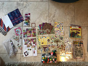 Scrapbooking, Rubbings book, Stickers, Shrink Crafts