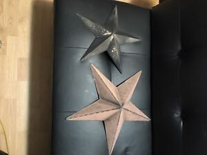 Outdoor decorative stars SOLD- tentatively