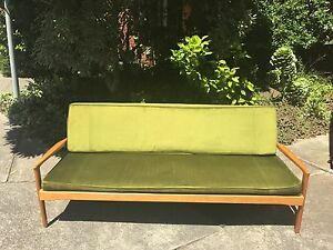 FLER Narvik 3 seater fold out bed vintage retro  MCM Northcote Darebin Area Preview
