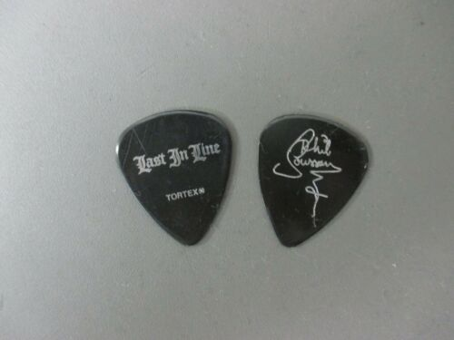 Dio guitar pick gold on white Last In Line Phil Soussan bass pick  !