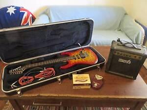 Washburn WR150 Electric guitar Dixons Creek Yarra Ranges Preview