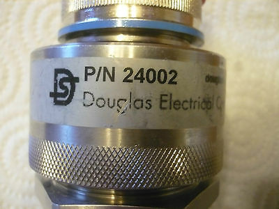 Lot of 5 New Douglas PotCon 24002 Electrical Feedthrough Hermetic Connector