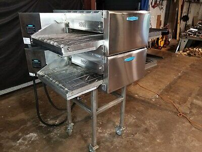 2017 Turbochef Hhc2020 Double Stack Electric Conveyor Pizza Ovens.....video Demo