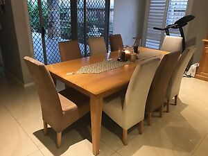 9 piece Dinning Table Set Middleton Grange Liverpool Area Preview