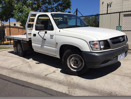 2004 Toyota Hilux Workmate RZN149R Manual 4cyl C/CHAS Ute Moorabbin Kingston Area Preview