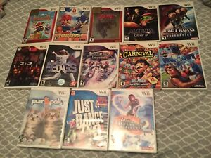 Wii Gamed Lot