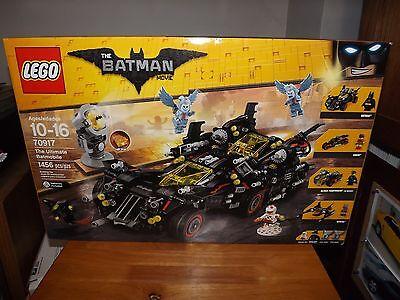 LEGO, THE BATMAN MOVIE, THE ULTIMATE BATMOBILE, KIT #70917, 1456 PIECES, NIB, 20