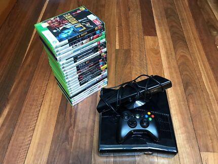 Xbox 360 S 250GB with over 20 AAA Games