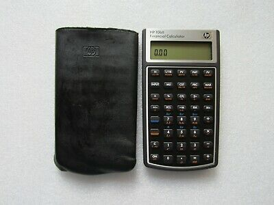 Rare HP 10bII Financial Calculator (NW239AA) for Business Accounting Banking