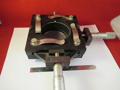 R.s. Wilder Stage Micrometer Table Specimen Microscope Part Barnes Ag-a-07