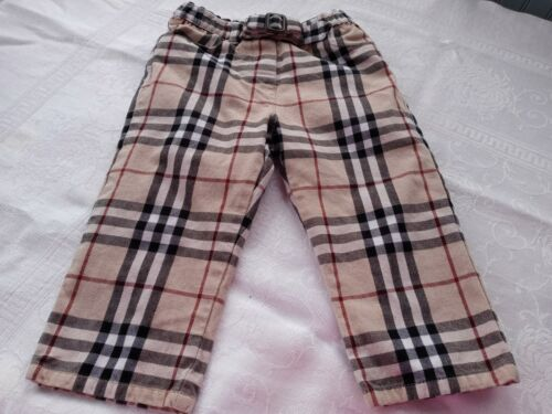 18 month Burberry Pants