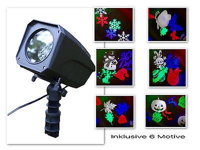 Led Christmas Colorful Spotlight Projector Lighting Light Effect Garden Rc