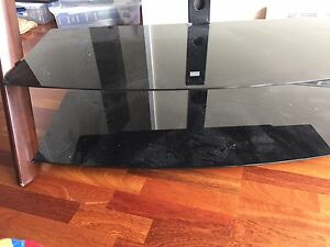 Tempered glass tv stand!!