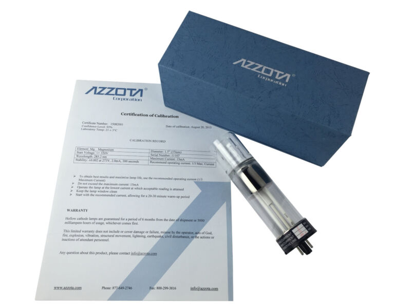 "Azzota 1.5"" Hollow Cathode Lamps Sodium - Na"