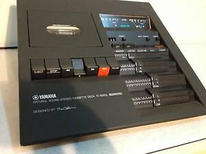 Yamaha Natural Sound Stereo Cassette Deck TC- 800GL Made in Japan Lockleys West Torrens Area Preview