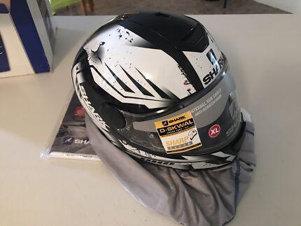 Shark d-skwal Dharkov XL motorcycle helmet