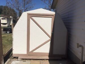 Wood Garden Shed 8x8