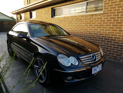 Mercedes CLK280 Coupe Black Coburg Moreland Area Preview