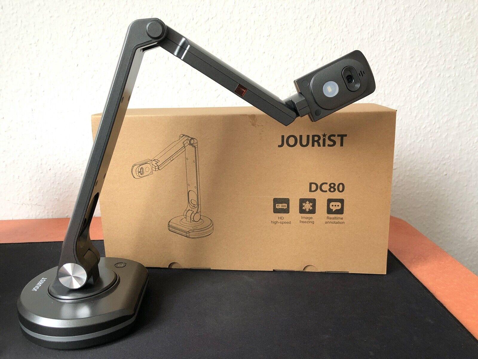 JOURIST DC80 Dokumentenkamera und Visualizer mit 8 MP, bis zu A3-Vorlagen