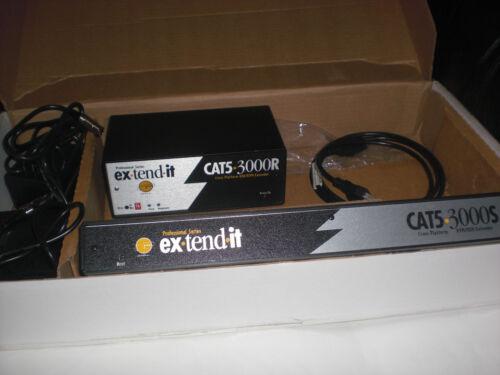 GEFEN Gefen CAT5 3000 Dual USB KVM Extender EXT-CAT5-3000 – Please Read - Used