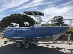 SURFSIDE 5.8m Centre Console with trailer, Mercury 150hp 4 stroke