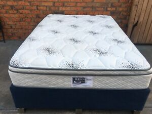 FREE DELIVERY KING KOIL DOUBLE MATTRESS AND BASE WITH 4 DRAWERS