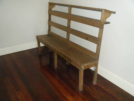 Unique Old Church Pew.  Makes great bookshelf / display stand East Fremantle Fremantle Area Preview