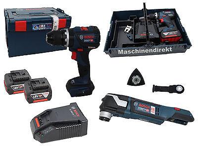Bosch  Akku Schlagbohrschrauber  GSB18V-60C + Akku Multi Cutter GOP18V-28 online kaufen