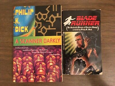 Lot of 3 Philip K. Dick Solar Lottery A Scanner Darkly Do Androids Dream