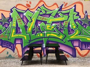 Retro style 3 tier tables $40 each