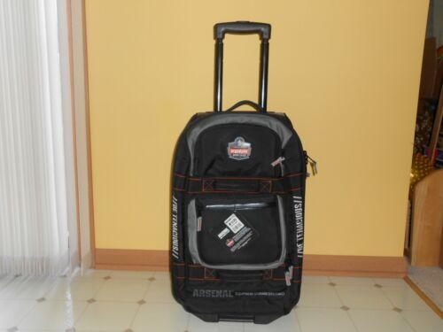 ERGODYNE Arsenal 5125 Rolling Carry On Luggage, Retractable Handle NEW