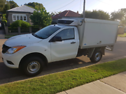 MAZDA BT 50 HI-RIDER 2013 Refrigerated Ute with side display  Newcastle Newcastle Area Preview