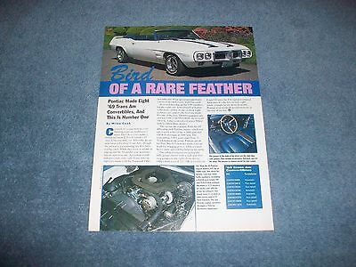 1969 Pontiac Trans Am Convertible Article