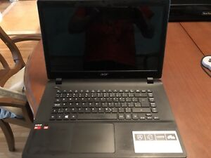 "ACER ASPIRE 15.6""  6GB RAM DDR3 100GB harddrive, hdmi, touchpad"