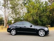 2009 Mercedes-Benz C220 Sedan Luxury Sunroof Black Moorebank Liverpool Area Preview